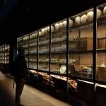 韓国木浦の国立海洋文化財研究所の新安船